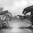 """Every Friday a new piece of artwork from the fanart contest will be posted on this website! Role Reversal by Kyle Broad """"What happens when Temeraire eats a little too […]"""